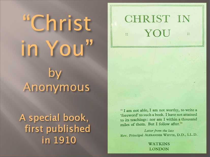 Christ in You book